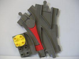 Lego Duplo váltó ( barnás szürke)