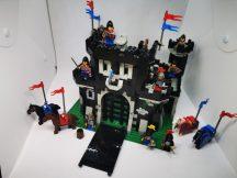Lego Vár, Castle - Black Knights - Black Monarch's Castle 6085 Vár! RITKASÁG (kicsi hiány, eltérés)