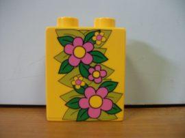 Lego Duplo képeskocka - virág
