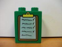 Lego Duplo képeskocka - jegyzet (karcos)