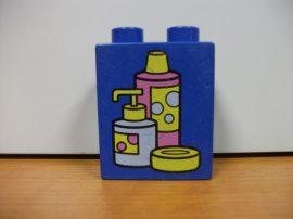 Lego Duplo képeskocka - szappan