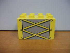Lego Duplo képeskocka - daru elem