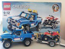 Lego Creator - Terepjáró 5893 (dobozzal és katalógussal)