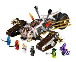 Lego Ninjago - Ultra Sonic Raider 9449