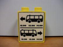 Lego Duplo képeskocka - busz