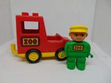Lego Duplo Zoo Autó figurával