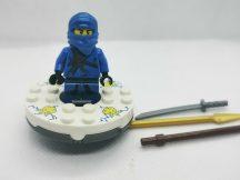 Lego Ninjago figura - Jay (njo004) Spinnerrel, pörgentyűvel 2257-es készletből