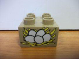 Lego Duplo képeskocka - tojás