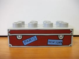 Lego Duplo képeskocka - Paris, New York