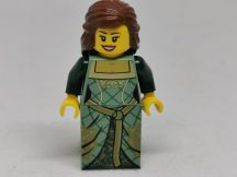 Lego Castle figura - Zöld Hercegnő (cas503)