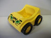 Lego Duplo cicás autó (sárga)