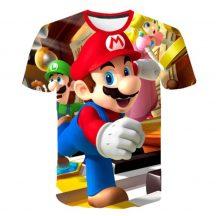 Gyerek 3D póló Super Mario 130 méret