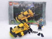 Lego Alpha Team - Alpha Team Sub-Surface Scooter 4791 (katalógussal)