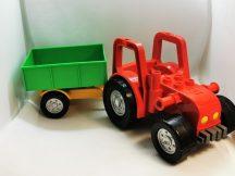 Lego Duplo - Nagy Traktor + utánfutó 5647 szettből
