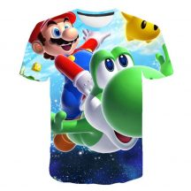 Gyerek 3D póló Super Mario 120 méret