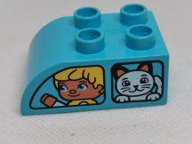 Lego Duplo Képeskocka - gyerek, cica (karcos)