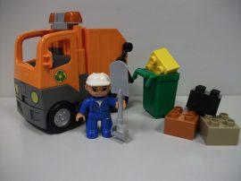 Lego Duplo - Kukásautó, Szemétszállító jármű 5637