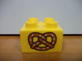 Lego Duplo képeskocka - perec
