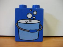 Lego Duplo képeskocka - vödör