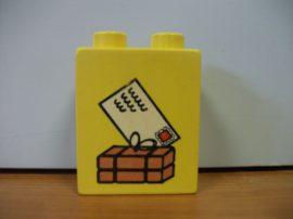 Lego Duplo képeskocka - levél