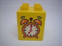 Lego Duplo képeskocka - ébresztőóra