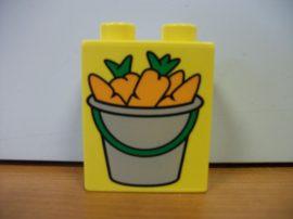 Lego Duplo képeskocka - répa