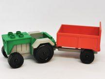 Lego Duplo Traktor Utánfutóval