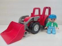 Lego Duplo traktor+ajándék figura