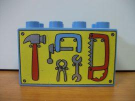 Lego Duplo képeskocka - szerszám - Bob mester (szerszám)