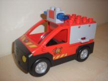 Lego Duplo tűzoltóautó hangos szirénával