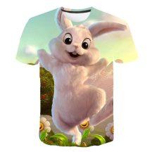 Gyerek 3D póló Nyuszi 110 méret