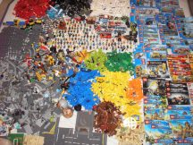 23 kg lego csomag (City, Creator, Chima, Technic, Ninjago, Star Wars stb) nagyon szép állapotú, katalógusokkal, több, mint 130 db minifigurával