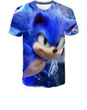 Gyerek 3D póló Sonic 140 méret