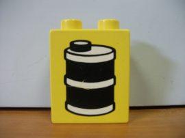 Lego Duplo képeskocka -  hordó