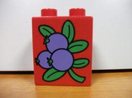 Lego Duplo képeskocka - áfonya