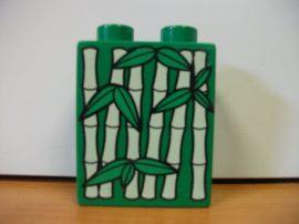 Lego Duplo képeskocka - bambusz (karcos)