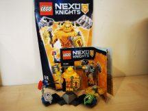 LEGO Nexo Knights - Ultimate Axl (70336) (doboz+katalógus)