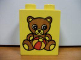 Lego Duplo képeskocka - maci