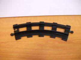 Lego Duplo sín kanyar, lego duplo vonatpályához (szürke sínnel kompatibilis)