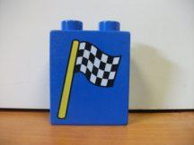 Lego Duplo képeskocka - zászló