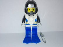 Lego Aquazone figura - Búvár, Aquanaut 3 (aqu003)