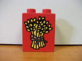 Lego Duplo képeskocka  - búza