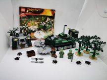 LEGO Indiana Jones - Dzsungelvágó 7626 (katalógussal) 1 db figura hiányzik