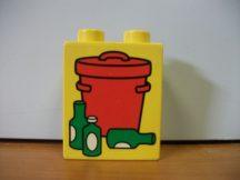 Lego Duplo képeskocka - kuka (karcos)