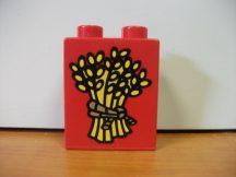 Lego Duplo képeskocka - búza (karcos)