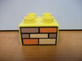 Lego Duplo képeskocka - tégla