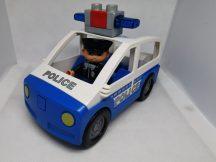Lego Duplo rendőrautó hangos szirénával