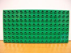 Lego Duplo Alaplap 8*16 os (s. zöld)