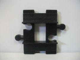 Lego Duplo sín toldó, lego duplo vonatpályához (szürke sínnel kompatibilis)