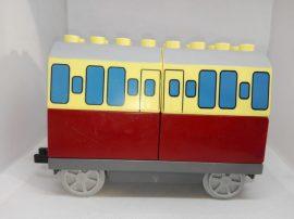 Lego Duplo Thomas mozdony utánfutó, lego duplo Thomas vonat utánfutó